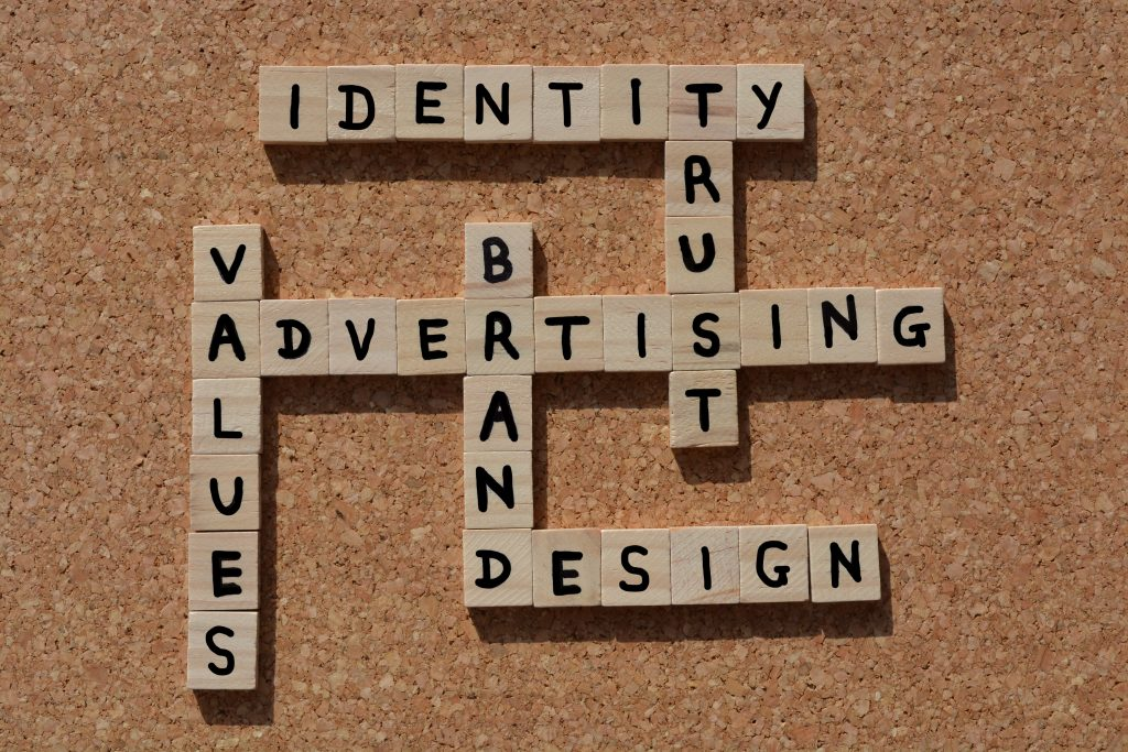tiles with marketing terms